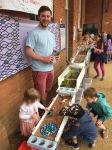 Fish-Migration Marble Run